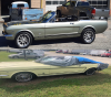 66 Mustang Before and After